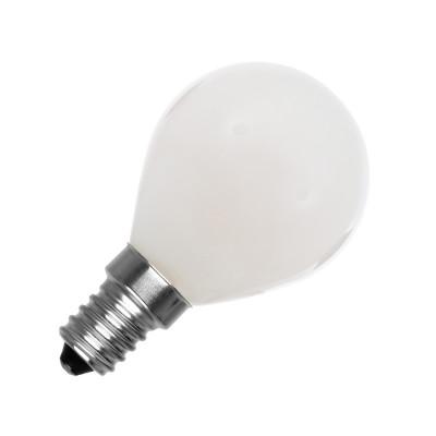 AMPOULE LED 4w boule verre-culot E14