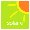 Energie solaire et accus