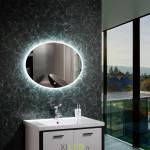 Catégorie Miroir lumineux led - Xiled : miroir led salle de bain décoration dressing rond 40cm ip44 , miroir led salle de bai...