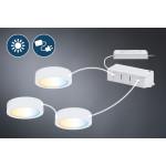 Catégorie Système éclairage clever connect paulmann - Xiled : Kit de démarrage CC Mike 2x2W 12W DC 2700-6500K 12V Blc dépoli/...
