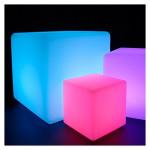 Catégorie Mobilier et décoration LED - Xiled : boule led 60cm rechargeable extérieur multi couleurs rgb+telecommande , lampad...