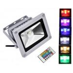 Catégorie Projecteur LED couleurs rgb-rvb - Xiled : Projecteur spot rgb couleur LED exterieur Lumiere Eclairage Lampe Ampoule...