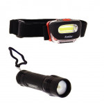 Catégorie Frontale et torche LED - Xiled : lampe torche led portable 120 lumens 3xaaa , lampe portable lanterne rechargeable ...
