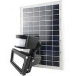 Catégorie Eclairage solaire - Xiled : applique Spot solaire avec détecteur de mouvements Steinel 1.2 W blanc froid argent , p...
